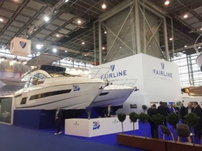 Fairline Yachts на выставке boot Dusseldorf 2019